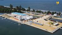 Pembangunan Venue Dayung untuk PON XX Papua telah selesai 100 persen dan sudah dimanfaatkan untuk latihan atlet. (dok: PUPR)