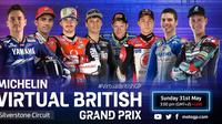 MotoGP Virtual Race Jilid V. (Twitter/MotoGP)