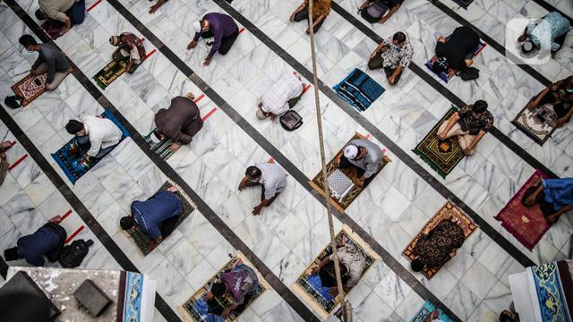 Masjid di Jakarta Kembali Gelar Salat Jumat