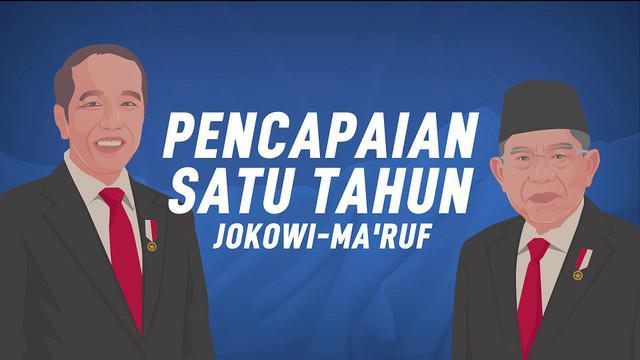 Setahun sudah perjalanan Indonesia di tangan pemerintahan Joko Widodo - Ma'ruf Amin sejak menjabat 20 Oktober 2019.