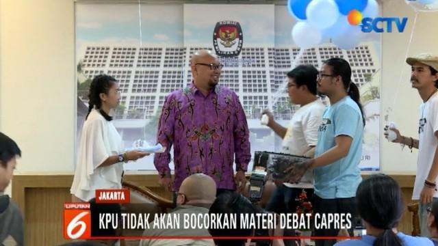 Komisi Pemilihan Umum (KPU) mengungkapkan persiapan debat sudah 85 persen mulai dari teknis hingga konten debat.