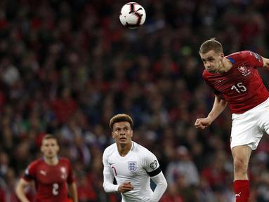 Republik Ceko memang bukan negara unggulan di ajang Euro 2020 ini. Namun dengan sederet pemain ternamanya, tim ini patut diperhitungkan dalam kompetisi akbar Eropa ini. (Foto: AFP/Adrian Dennis)