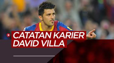 Berita video perjalanan karier David Villa, striker legendaris La Liga dan Timnas Spanyol.