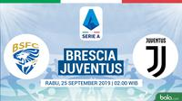 Serie A - Brescia Vs Juventus (Bola.com/Adreanus Titus)