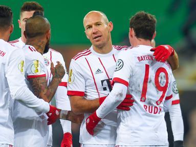 Bayern Munchen begitu mendominasi baik di bundesliga maupun DFB Pokal (AFP/Patrik Stollarz)