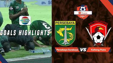 Berita video highlights Shopee Liga 1 2019 antara Persebaya Surabaya menghadapi Kalteng Putra yang berakhir dengan skor 1-1 di Stadion Gelora Bung Tomo, Selasa (21/5/2019).