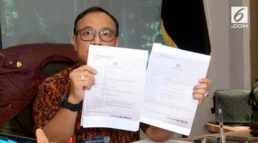 Penyidik Bareskrim Polri mengamankan dua orang terkait kasus hoaks tujuh kontainer surat suara dicoblos di Tanjung Priok, Jakarta Utara. Keduanya berinisial HY dan LS