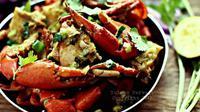 Kepiting pun dapat diolah menjadi masakan lezat nan menggugah selera
