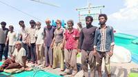 ABK kapal nelayan yang terdampar di Aceh (Dok. Imigrasi)