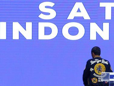 Jokowi Ajak Kaum Milenial Untuk Tidak Golput di Festival Satu Indonesia