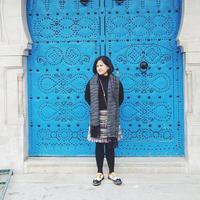 Tertarik untuk mempelajari pasar ritel, Amanda Indah Lestari berharap brand fashion miliknya, Lekat bisa tetap hidup. (Instagram/@amanda.lekat)