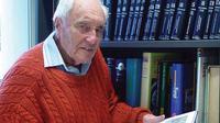 Dr David Goodall, ilmuwan tertua australia yang terbang ke Swiss untuk eutanasia. (GoFundMe)
