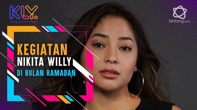 Alasan Nikita Willy ogah kurangi syuting di bulan ramadan.
