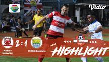 Laga lanjutan #shopeeliga1, #MaduraUnited FC vs #PersibBandung pada hari Sabtu Malam (05/10/2019) berakhir  dengan skor 2-1.