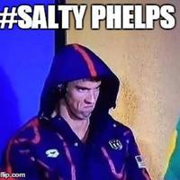 Meme Michael Phelps. (weasels777.deviantart.com)