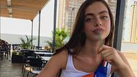 Yael Shelbia, model Israel yang menjadi wanita tercantik kedua 2019. (dok. Instagram @yaelshelbia/https://www.instagram.com/p/B5Nt5lolESG/Dinny Mutiah)