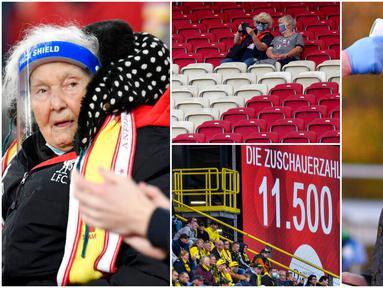 Sejumlah liga Top Eropa mulai mempersilahkan suporter menonton langsung pertandingan di Stadion. Seri A, Bundesliga hingga Premier League telah memperbolehkan fans hadir langsung ke stadion tentunya dengan mematuhi protokol kesehatan.