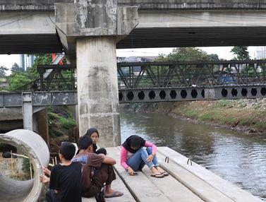 Pembebasan Lahan Normalisasi Kali Ciliwung Ditarget Tuntas Tahun Ini