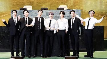 BTS beri pidato di sidang PBB, RM dan Jimin pun kenakan jam tangan mewah/dok. Instagram United Nation