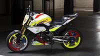 BMW Motorrad baru saja membuka selubung motor sport konsep baru mereka yang diberi nama Stunt G 310.