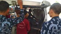 Arif Nur Hasan balita 18 bulan yang mengalami luka bakar 48 persen akibat tercebur ke panci berisi air mendidih akhirnya meninggal dunia, Kamis, 4 Juli 2019. (Liputan6.com/ Dian Kurniawan)