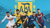 Ilustrasi - 5 Pemain asal Argentina dengan Status Paling Subur di Kompetisi Eropa (Bola.com/Adreanus Titus)
