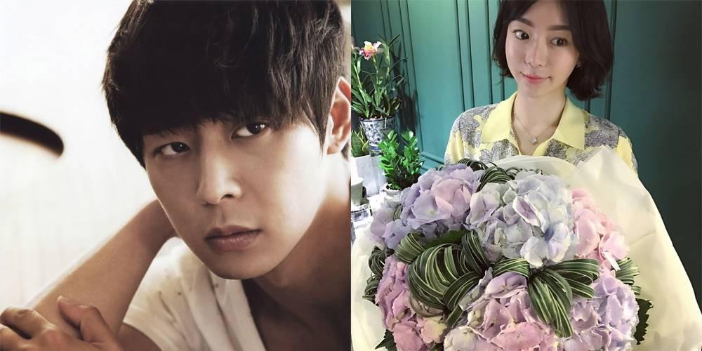 Yoochun JYJ dan Hwang Hana [foto: Allkpop]
