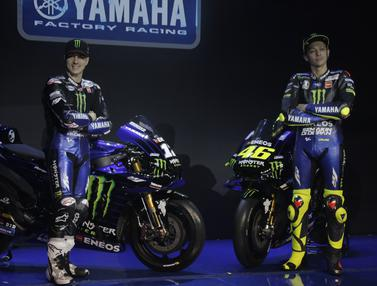 Pebalap Monster Energy Yamaha