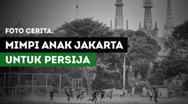 Berita video Foto Cerita kali ini menampilkan kehidupan anak-anak muda Jakarta yang tergabung dalam tim Persija Jakarta U-17.