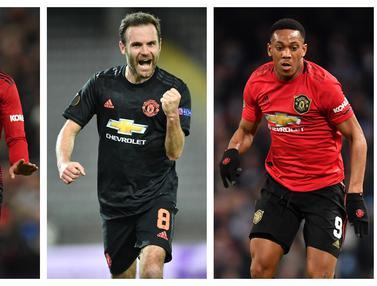 FOTO: 5 Pemain yang Kemungkinan Dilepas Manchester United Musim Depan