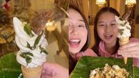 Viral Es Krim yang Terbuat Dari Nasi Padang, Bikin Geleng Kepala. (Sumber: TikTok/siscakohl)