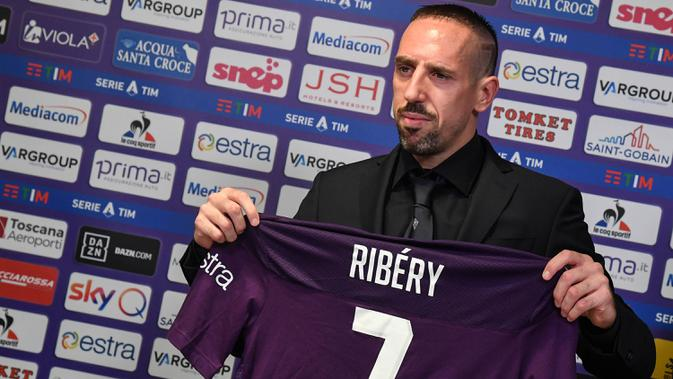 Rumah Kemalingan, Franck Ribery Ragu Lanjutkan Karier di Liga Italia