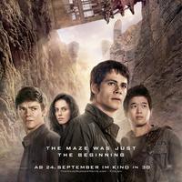 Poster film Maze Runner: The Scorch Trials. Foto: 20th Century Fox