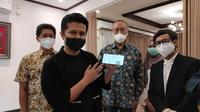 Deteksi Covid-19 dengan i Nose (Dian Kurniawan/Liputan6.com)