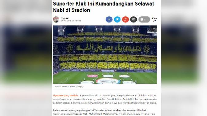 Suporter Klub Sepak Bola