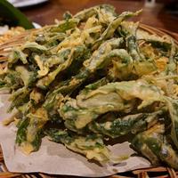 Ilustrasi tempura bayam./Copyright shutterstock.com/g/Meri+Hariantisasi