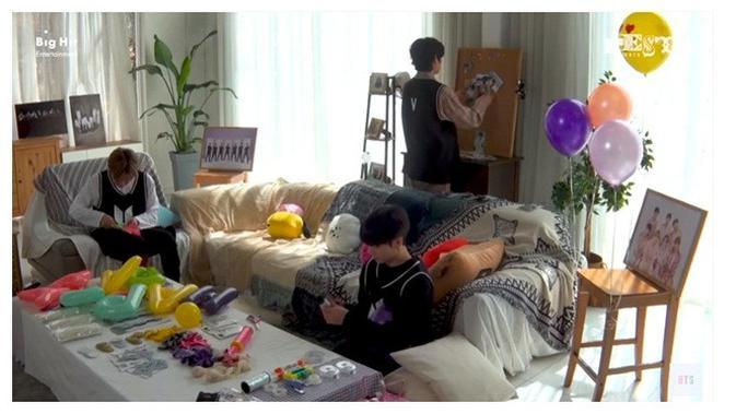 Anniversary BTS (Sumber: YouTube/BANGTANTV)