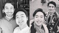 6 Momen Reza Rahadian Bersama Asisten Pribadinya, Kompak Bak Kakak Adik (Sumber: Instagram/aryaibrahims)