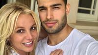 Sam Asghari dan Britney Spears. (Instagram/ samasghari)