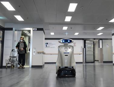Rumah Sakit di Jerman Gunakan Robot Pembersih Canggih yang Bisa Bernyanyi