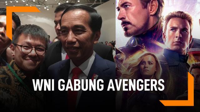 Seorang WNI Tergabung di Tim Visual Efek Avengers Endgame