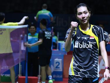 Hafiz / Gloria Melaju ke Semi Final Indonesia Open 2018