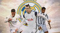 Real Madrid - Mariano Diaz, Gareth Bale, Alvaro Morata (Bola.com/Adreanus Titus)