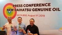 Pelumas baru Daihatsu (Istimewa)