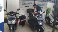Begini Cara Beli Motor Bekas Agar Tidak Ditipu Pedagang Nakal (Arief A/Liputan6.com)