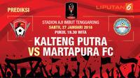 Prediksi Kalteng Putra Vs Matapura FC (Liputan6.com/Trie yas)