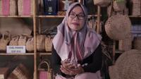 Ieko Damayanti pemiliki usaha CV Sahabat Alam, perusahaan handycraft dengan merek Ratu Eceng.