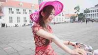 Artis film panas Jepang Sera Amane. (Facebook)