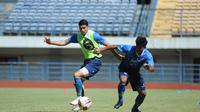 Suasana latihan Persib Bandung. (Erwin Snaz/Bola.com)
