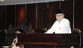 Ketua MPR: Demokrasi dan Pancasila adalah pemikiran visioner pendiri bangsa Indonesia. (foto: dok. MPR)